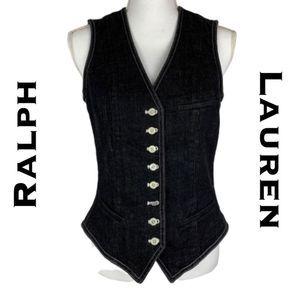 Lauren Jeans Company Ralph Lauren Vest Size M